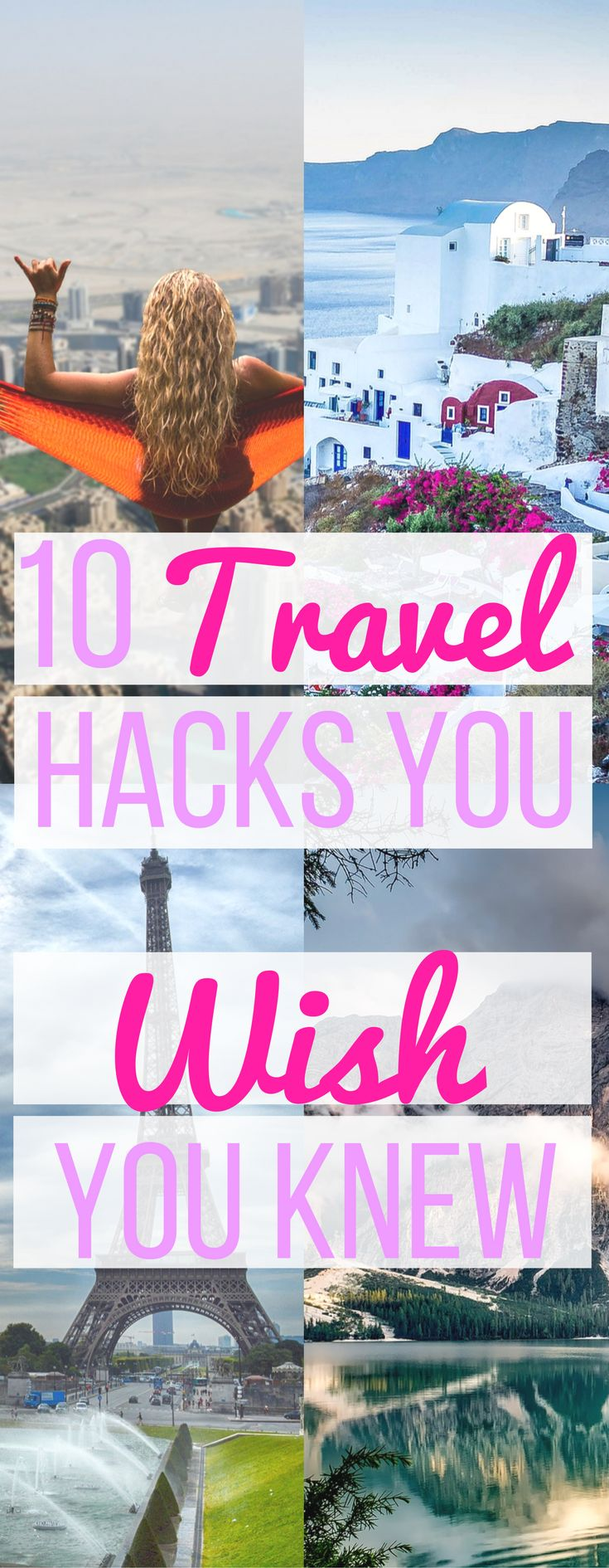 Repin for later - 10 Travel Hacks Everyone Should Know! - Hint Hacks