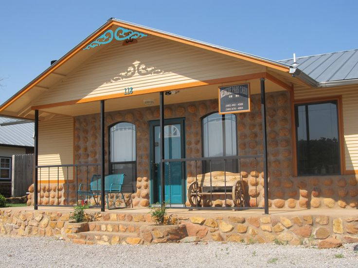 The Medicine Park Cabin Is Just A Short Walk Away From Everything Oklahomas Original Cobblestone Town