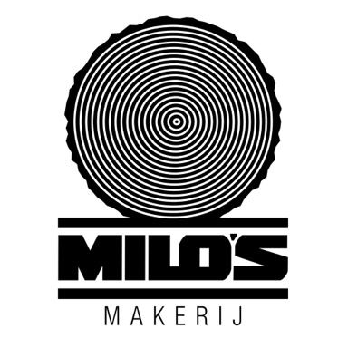 Logo.. Milo's Makerij by Supalpin