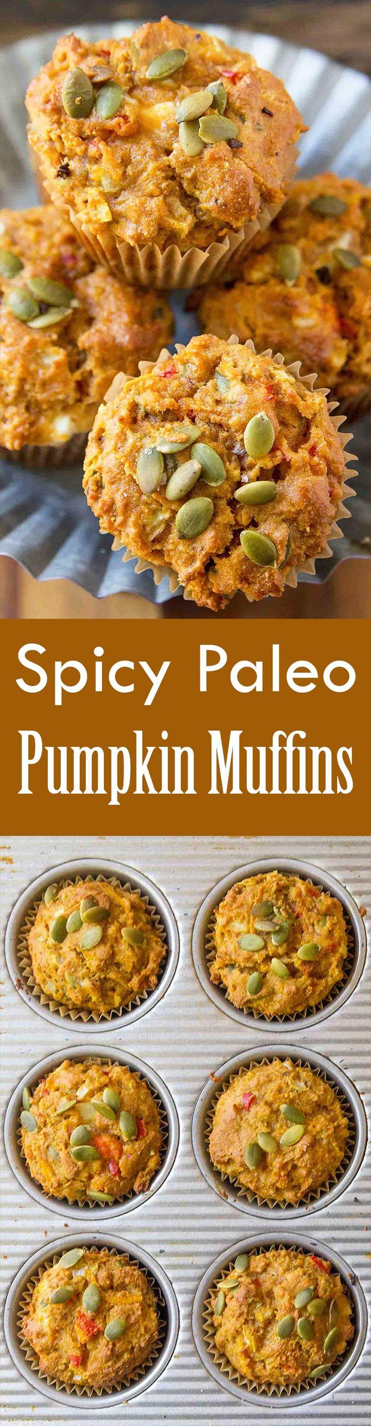 Spicy Bacon Cheddar Muffins Recipe — Dishmaps