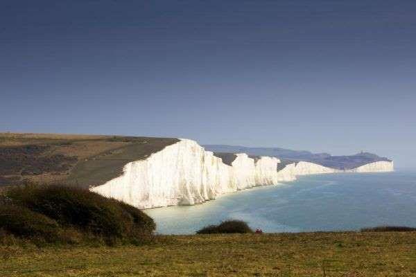 Les falaises blanches de Douvres se composent de miles falaises de craie…