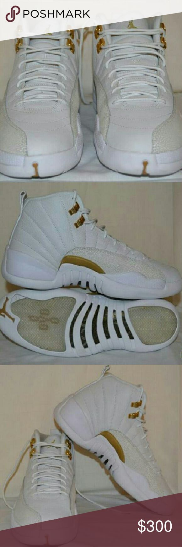 Jordan 12's OVO LIMITED EDITION New, available in all sizes  Feel free to contact me if you have any questions Jordan Shoes Athletic Shoes