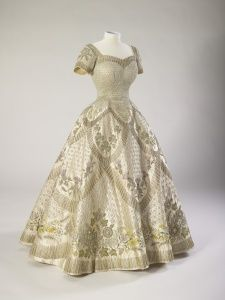 Her Majesty The Queen | Royal Collection Trust Coronation Dress, Norman Hartnell 1953