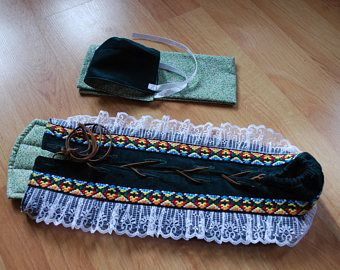 Preemie Native American Infant Moss Bag