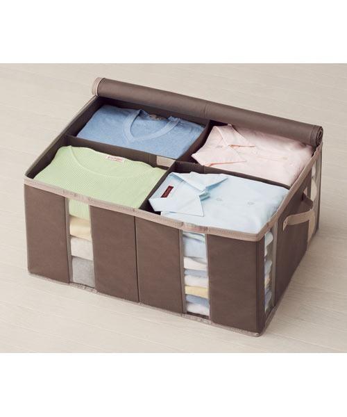 衣類収納ボックス M 4マス(パルティM)
