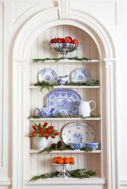 25 best ideas about early american decorating on for Colonial home christmas decorations