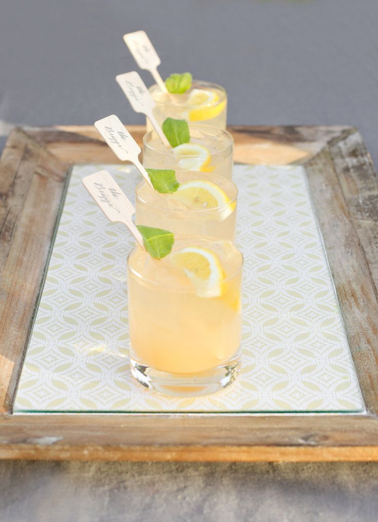signature drinks. #southernstyle