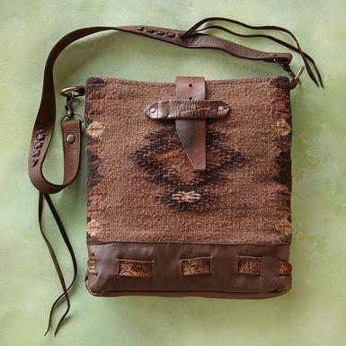 MCFADIN Aztec bag Sundance Catalog
