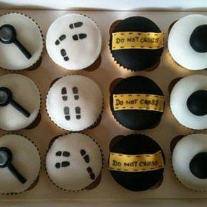 Spy Themed Cupcakes