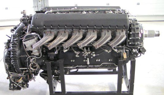 Aircraft Engines - Rolls-Royce Merlin 224