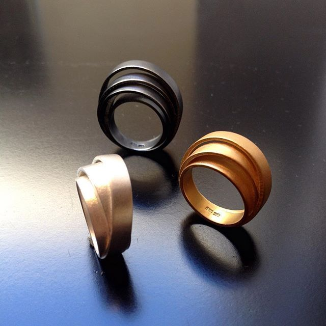 """Lastu"" #rings #designdistricthelsinki #tiinaarkko"