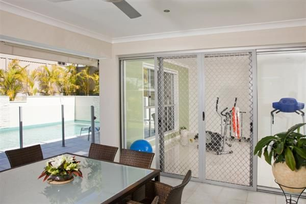 Window & Door Security Screens Brisbane - River City Glass is an authorised dealer of security doors & window screens. We are also offering fully welded, seamless screens for maximum strength.