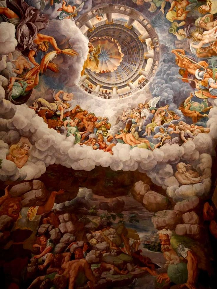 Fall of the Giants, the famous fresco in the Hall of Giants, Mantua, Italy | Mantua – a hidden town of palaces | Laugh Travel Eat