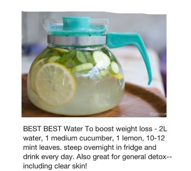 drink water weight loss