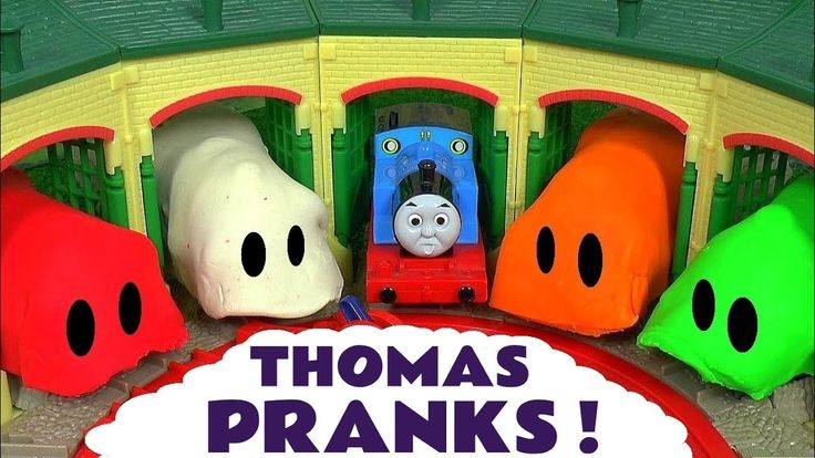 Thomas and Friends Pranks with Play Doh Stop Motion Tom Moss and Lion Guard Toys Surprise Eggs TT4U - YouTube