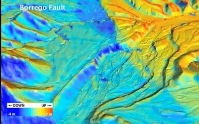 3-D Laser Map Shows Earthquake Before and After | #GeologyPage