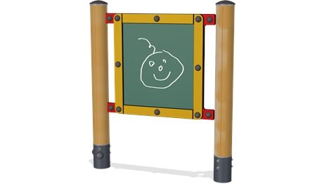 Chalk Board Small - PCM0011 - Playground accessories and park furniture - Playground Equipment - KOMPAN