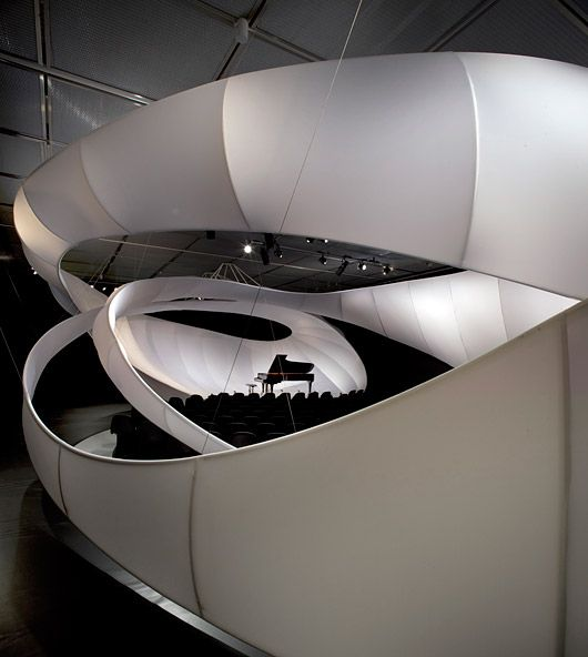 JS Bach / Zaha Hadid Architects Chamber Music Hall for Manchester International Festival