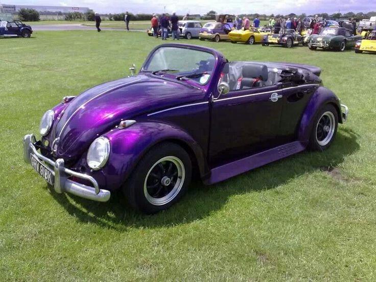 Awesome purple VW bug convertible!! | Amazing Automobiles ...