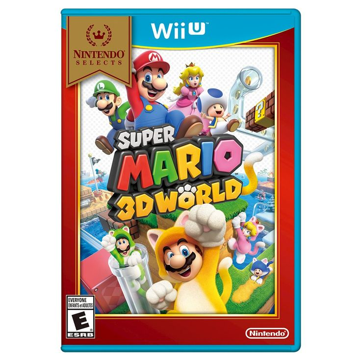 Nintendo Selects: Super Mario 3D World (Nintendo Wii U)