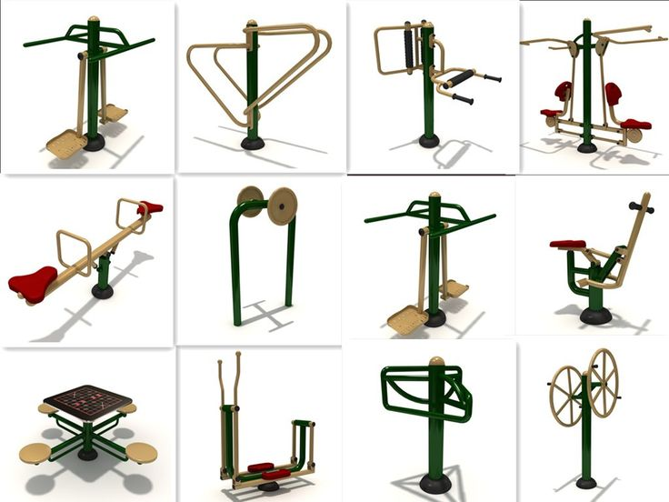 China manufacturer machine exercise outdoor gym equipment amusement rider