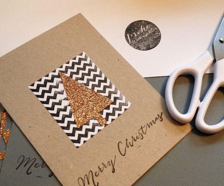 diy weihnachtskarten hier auf basten bz. Black Bedroom Furniture Sets. Home Design Ideas