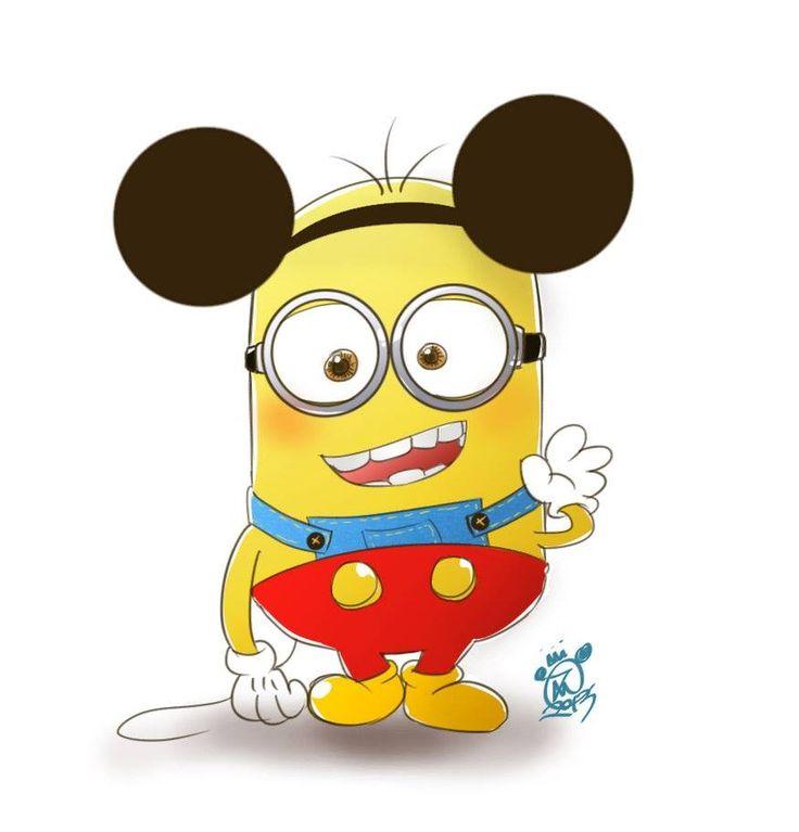 Disney Minions Minion Mouse!  ...