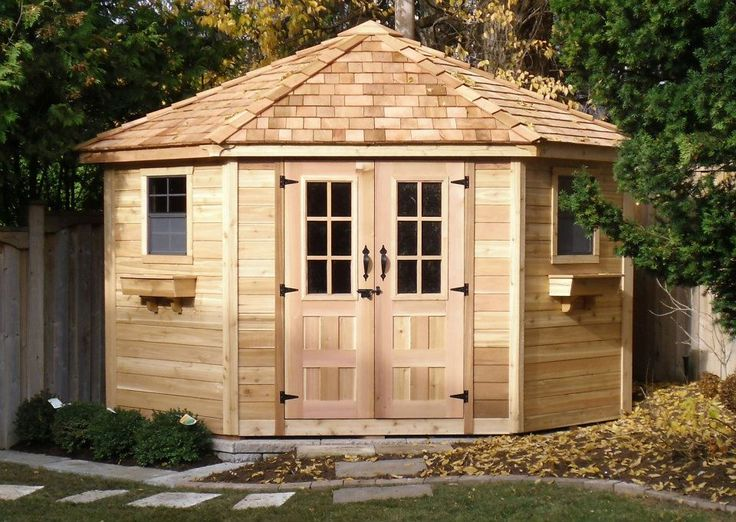 apprehend a royal glance to your patio porch garden or outdoor area by using this outdoor living today penthouse cedar garden shed