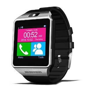 Bluetooth smartwatch Met deze gadget kan je bijna alles op 1 apparaatje. Bellen, je social media in de gaten houden, foto's maken, video's bekijken, bijhouden hoeveel uur je slaapt en het aantal stappen dat je zet tellen. Wat je ook bedenkt, waarschijnlij