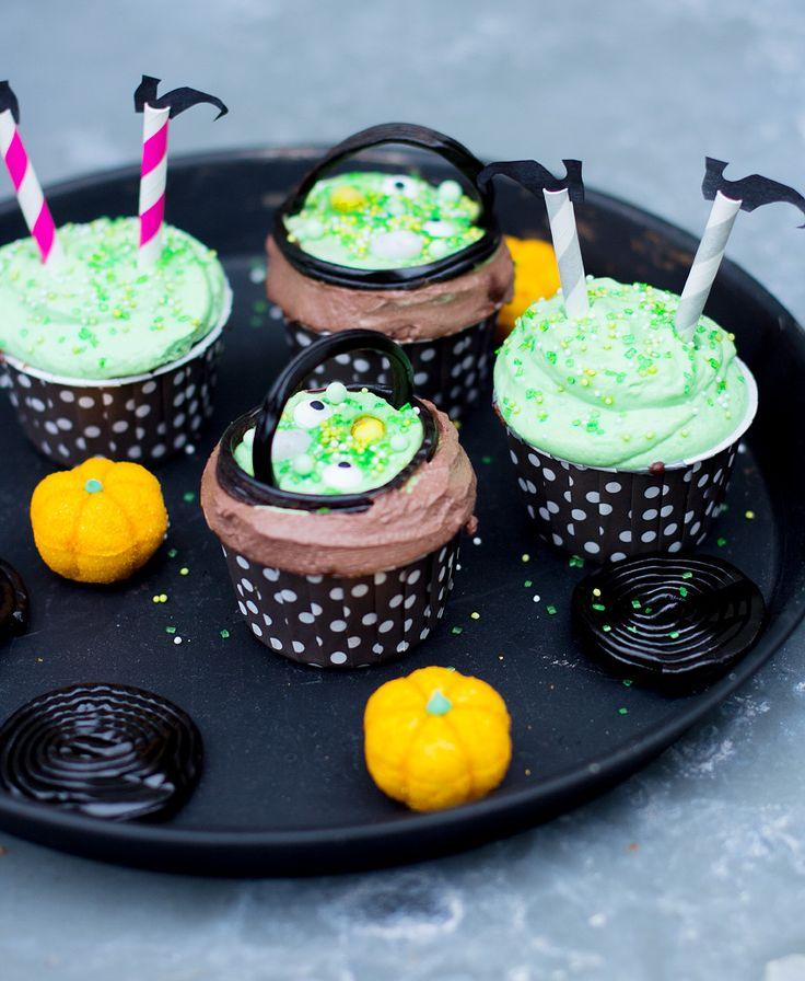 Hexen Cupcakes