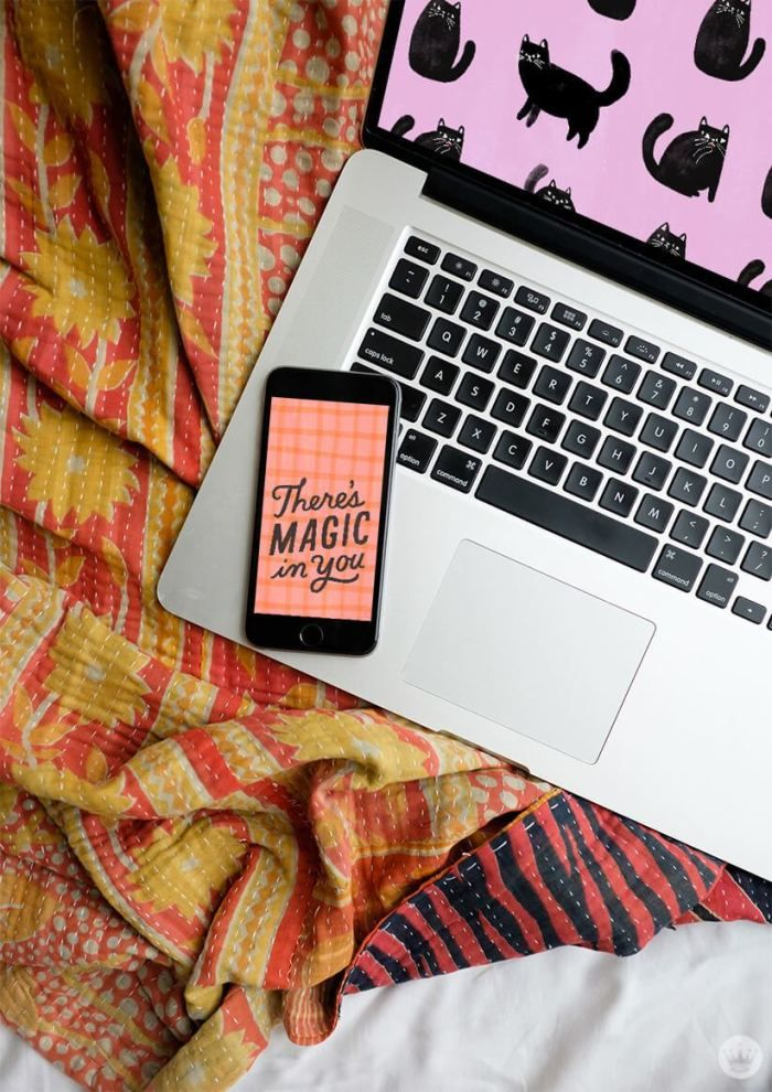 Make Your Screens Magical With Free October 2019 Digital Wallpapers Think Make Share October Wallpaper Digital Wallpaper Flower Desktop Wallpaper