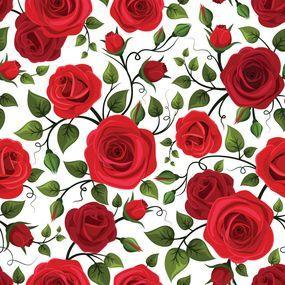Papel de Parede Floral 1611