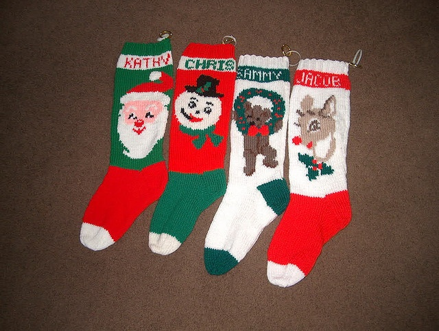 Christmas Stocking Knitting Kits