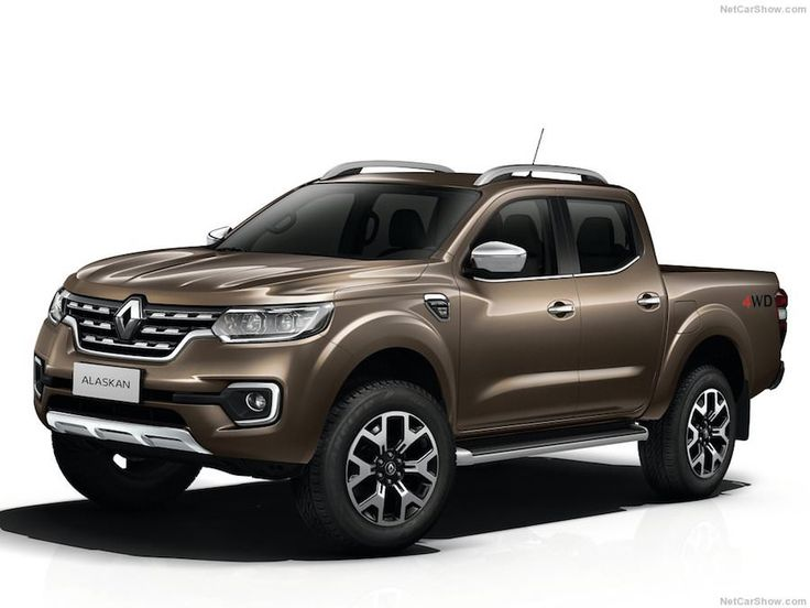 Ce Renault Alaskan est le premier Pick-up de la marque France dont les bases sont communes avec son cousin le Nissan Navara.