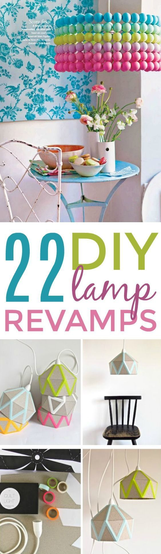 22 DIY Lamp Revamps