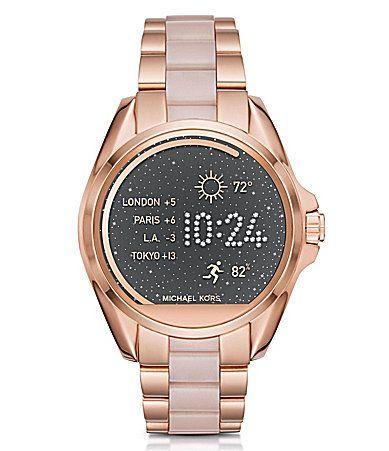 Michael Kors Access Bradshaw Bracelet Smart Watch #Dillards