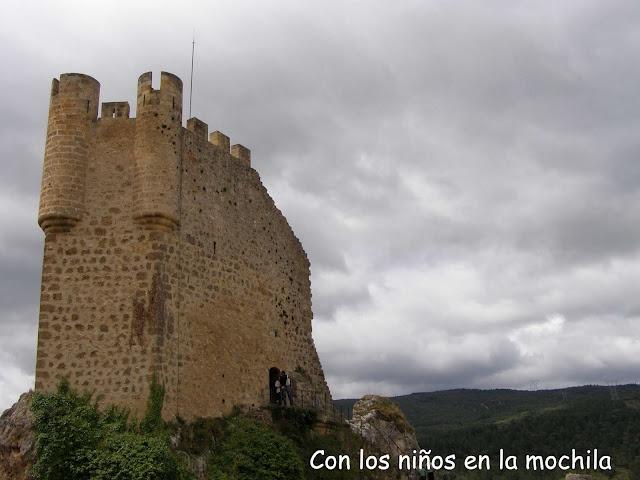 Torre del homenaje del Castillo de Frías.