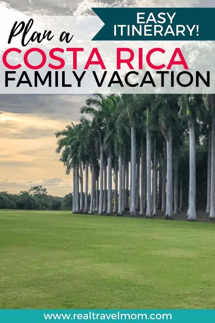 Costa rica with kids an insanely easy and fun family