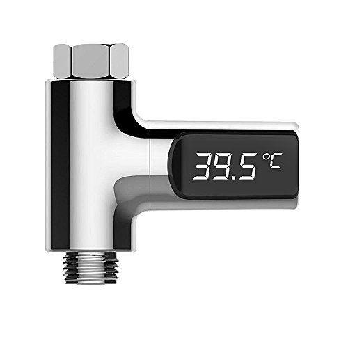 Nacatin LED Termometro Digital de Ducha para Bebe, con Pantalla Impermeable y Preciso Sensor Temperatura del Agua sin Batería, 360° Rotación #Nacatin #Termometro #Digital #Ducha #para #Bebe, #Pantalla #Impermeable #Preciso #Sensor #Temperatura #Agua #Batería, #Rotación