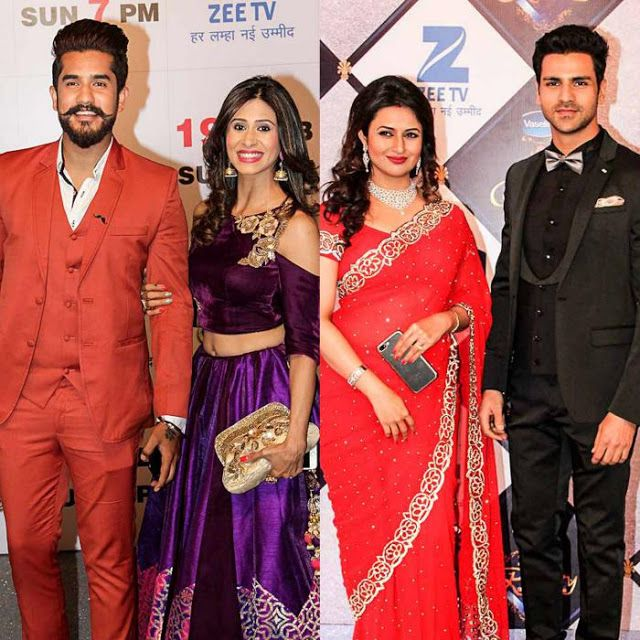 Zee Rishtey Awards: Suyyash Rai, Kishwar Merchant, Anita Hassanandani, Shabbir, Sriti Jha and others turns Up the heat