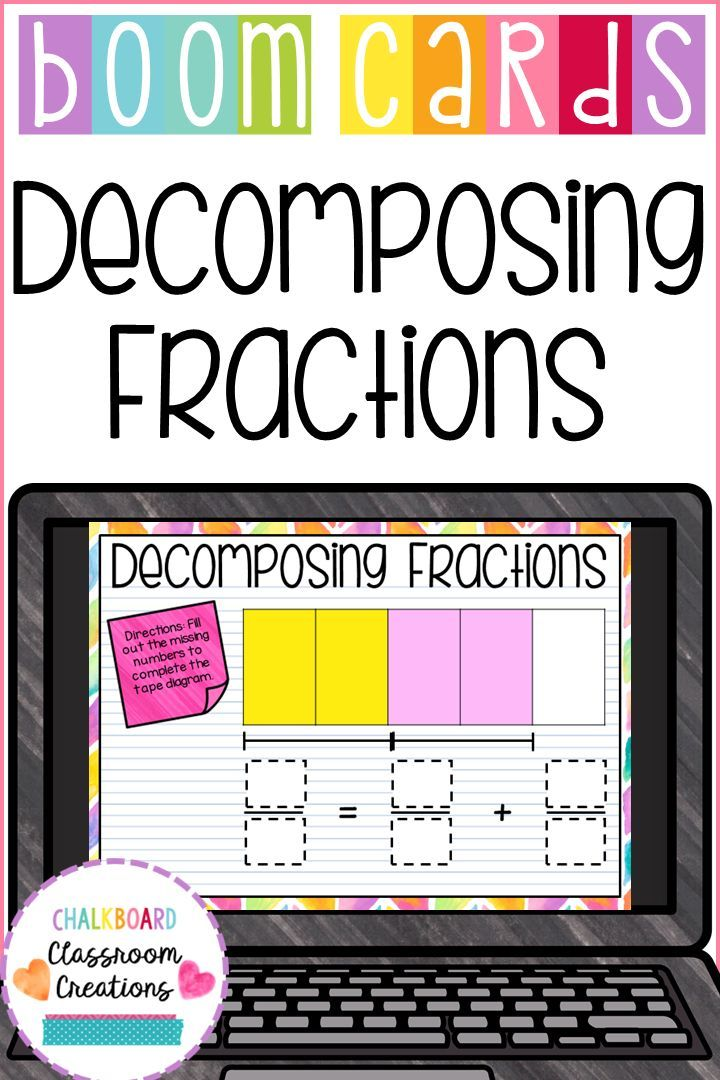 how to decompose a fraction two ways