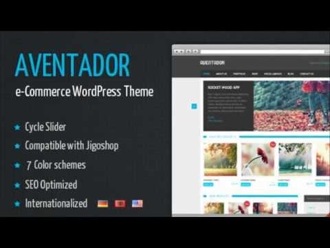 Aventador - Wordpress eCommerce Theme + Free Download