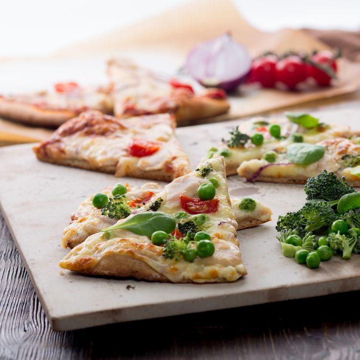 Anybenyraba: пицца на ржаном и цельнозерновом тесте