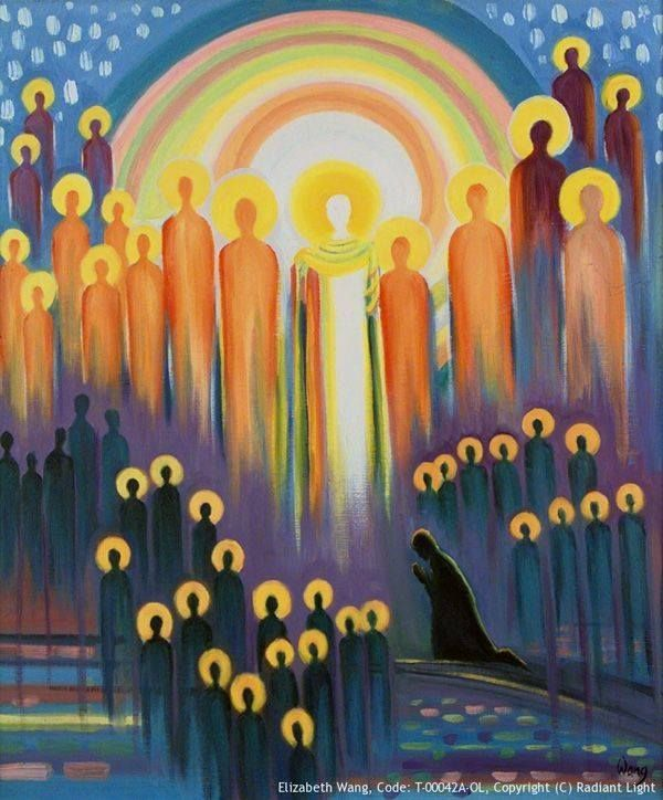 Today's Gospel: Matthew 5, 1-12a – All Saints' Day Today is All Saint's Day, a day Catholics celebrate because we have a basic understanding that there is a powerful spiritual communion between tho…