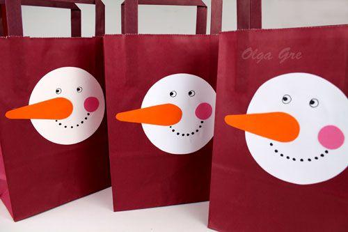 ДекоМИР: Пакет для новогоднего подарка