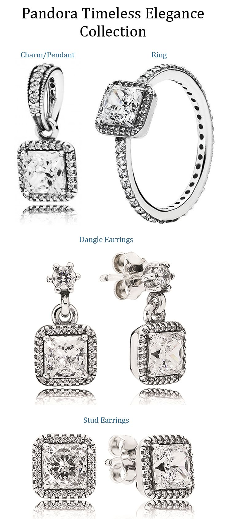 Pandora Timeless Elegance Collection available at Exclusively Diamonds
