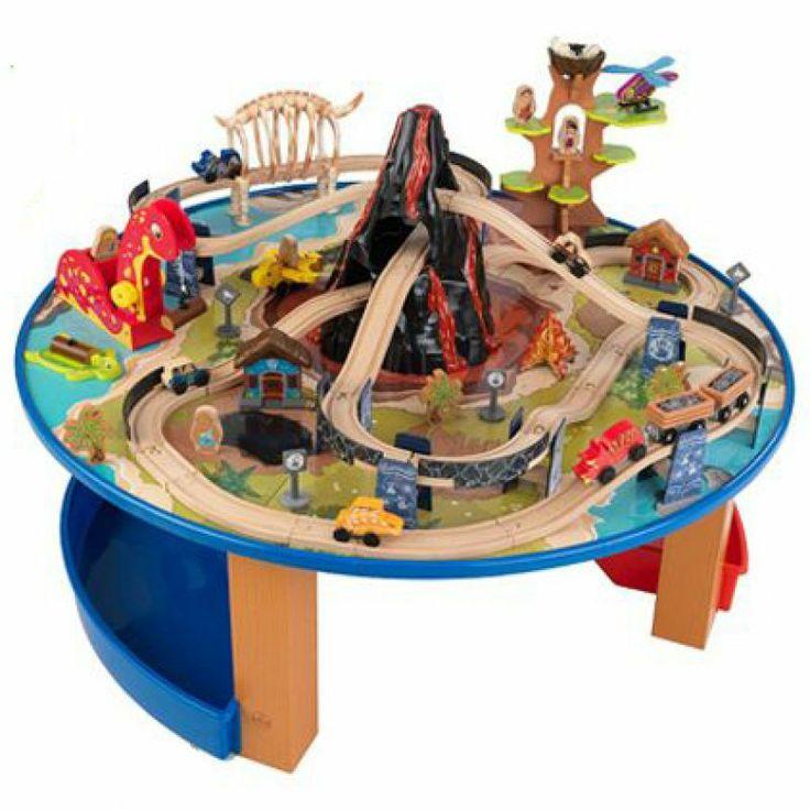 Onze merken > Kidkraft > Webshop Speelset dinosaurus, trein en insect   Verwende apen