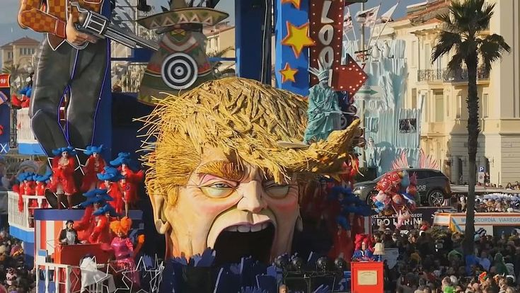 It is one of the most renowned street celebrations in Europe, The Carnival of Viareggio famous for its parades of huge floats.