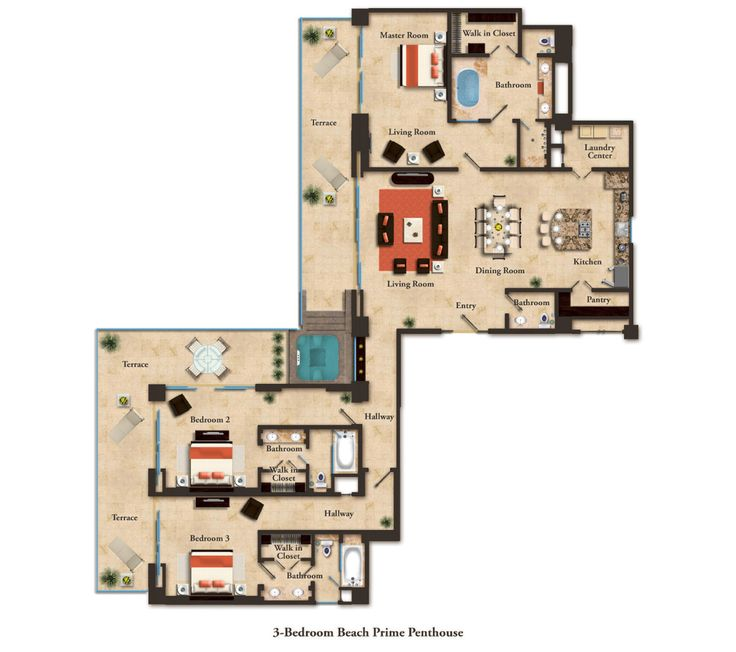 Las Vegas Hotels Suites 2 Bedroom Creative Plans Enchanting Decorating Design