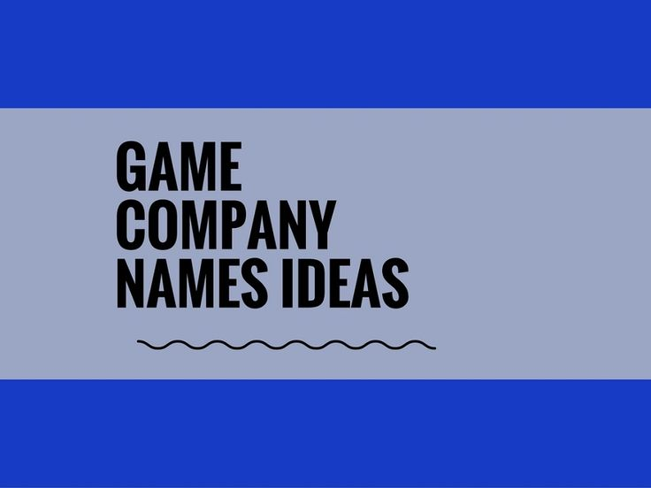 While your business may be extremely professional and important, choosing a creative company name can attract more attention.A Creative name is the most important thing of marketing. Check here creative, best Game Company names ideas for your inspiration.